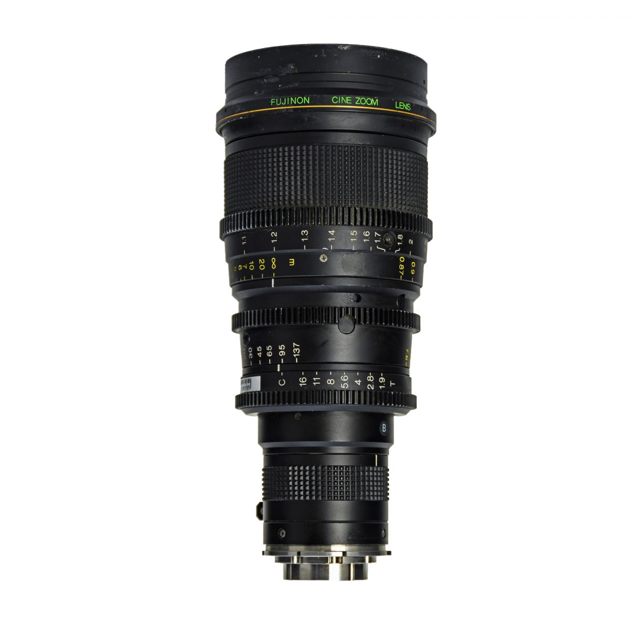 7.6-137mm T1.9 Fujinon Cine Zoom Lens HAc18x7,6-M