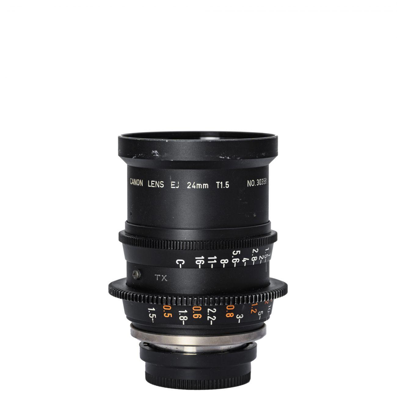 24mm lens Canon EJ T1.5 B4-mount