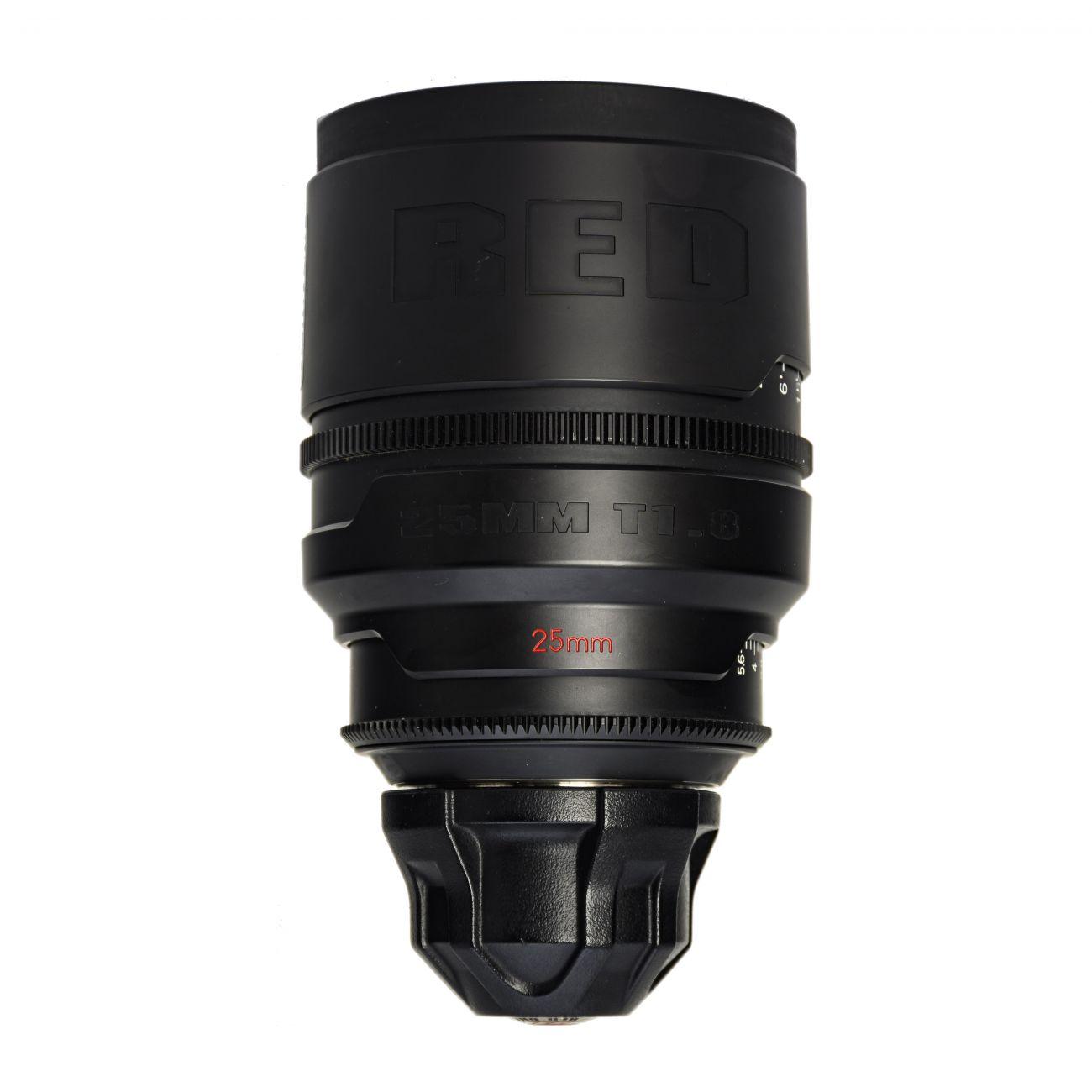 25mm lens RED T1.8 PL-mount