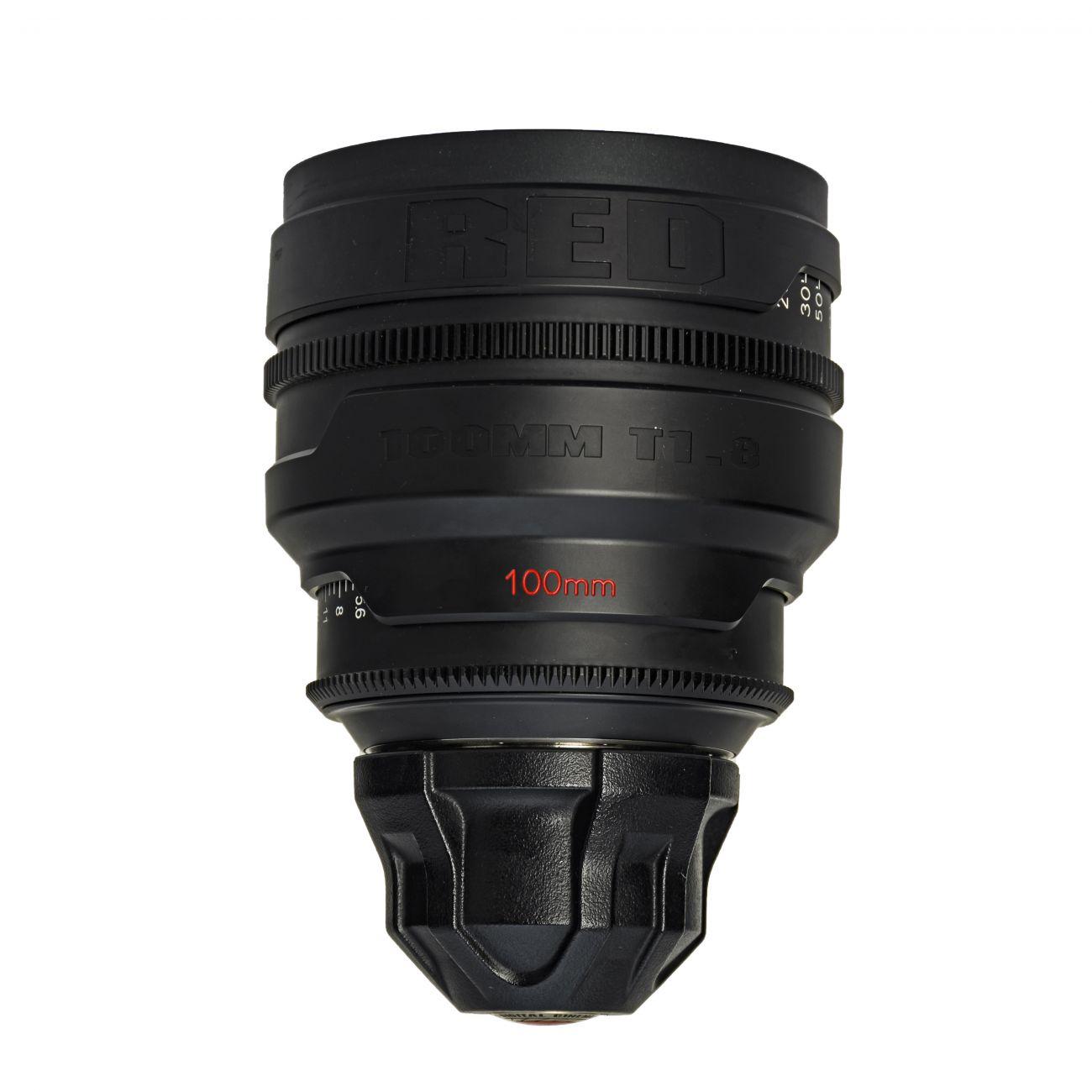 100mm lens RED T1.8 PL-mount