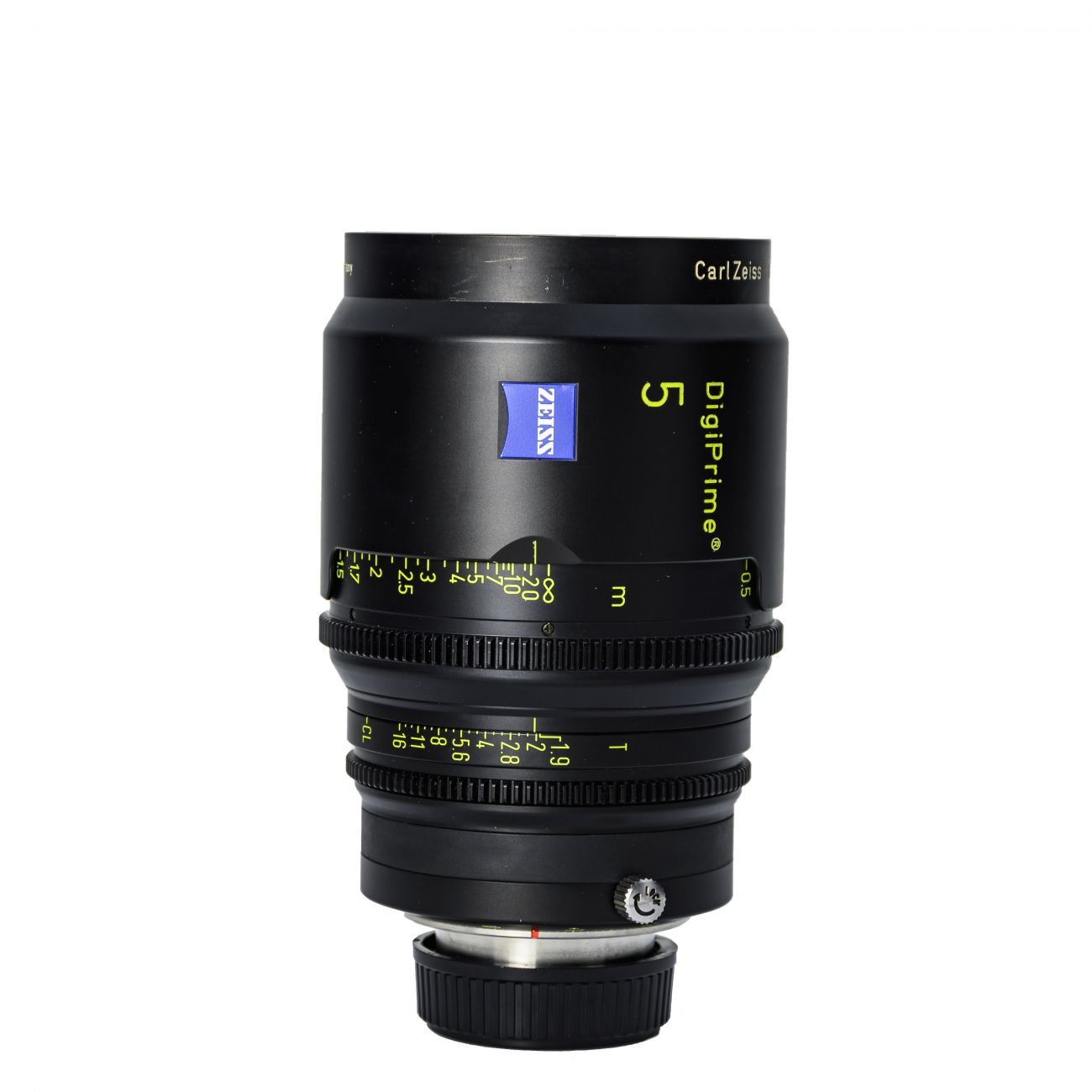 5mm lens Carl Zeiss DigiPrime Distagon T1.9 B4-mount
