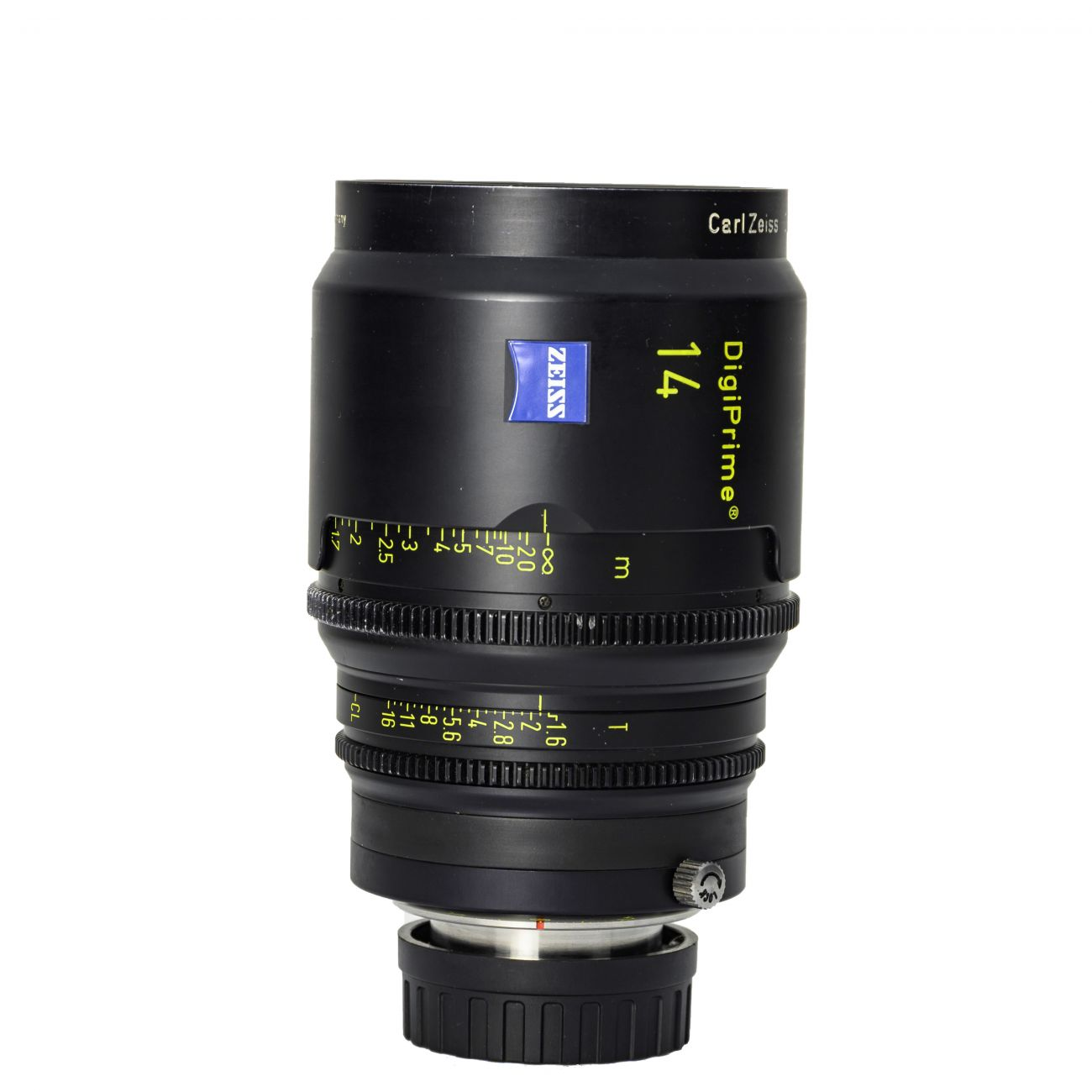 14mm lens Carl Zeiss DigiPrime Distagon T1.6 B4-mount