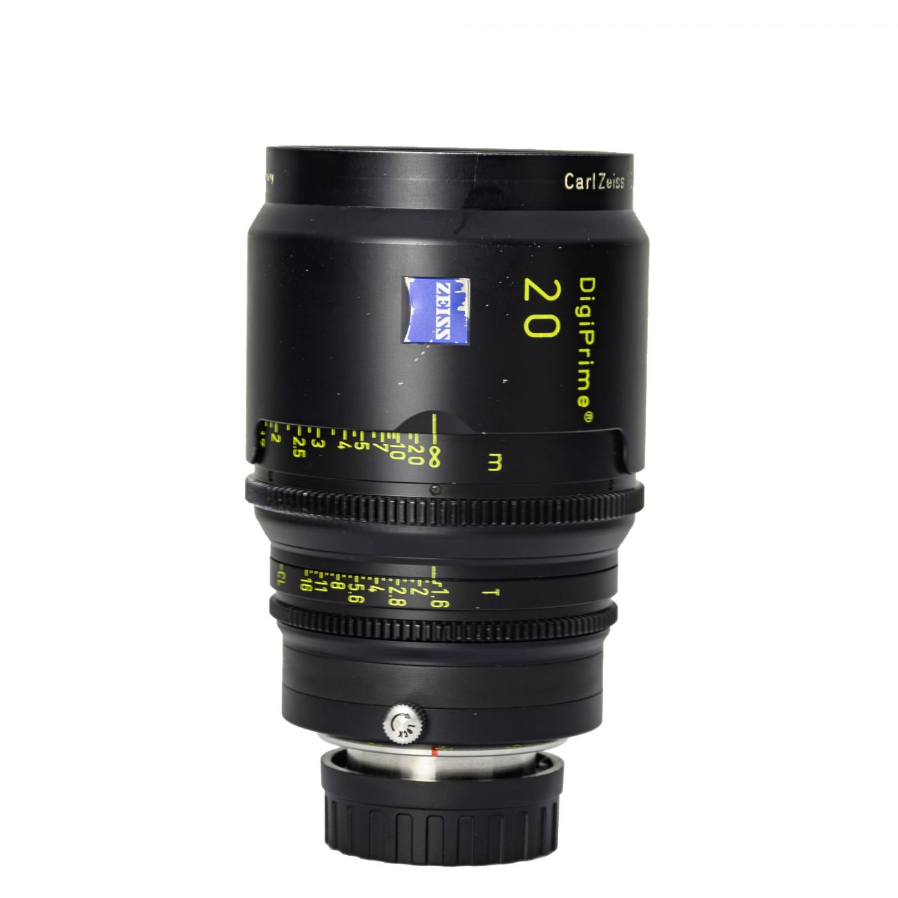 20mm lens Carl Zeiss DigiPrime Distagon T1.6 B4-mount